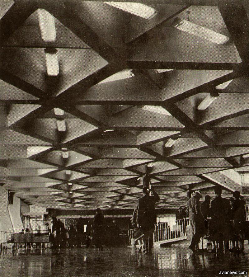 Первый этаж терминала