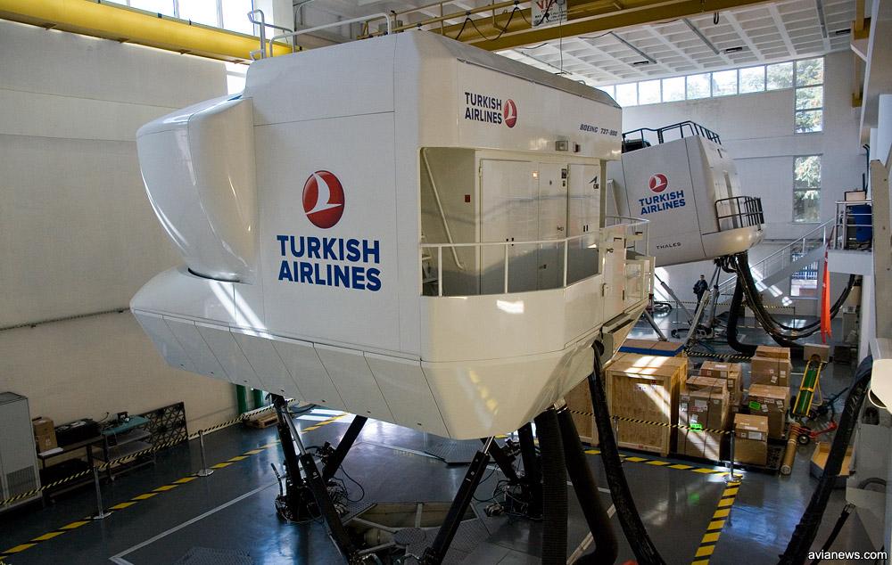 Симулятор полета Boeing 737-800