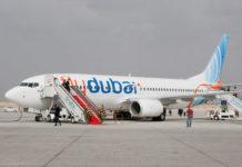 Boeing 737-800 авиакомпании flydubai