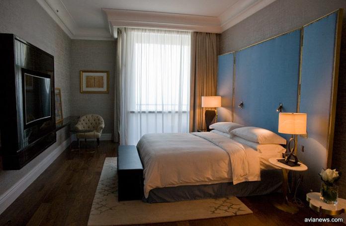 Номер в отеле в Дохе