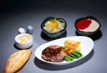 Пример платного питания в эконом-класса на дальнемагистральных рейсах Lufthansa