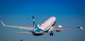Первый взлет Boeing 737 MAX 7