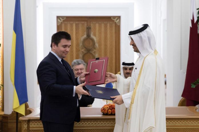 Подписание безвизового соглашения между Украиной и Катаром