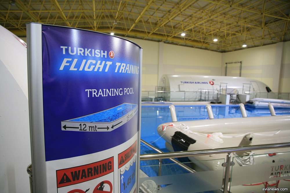 Размеры тренировочного бассейна 19х12 метров