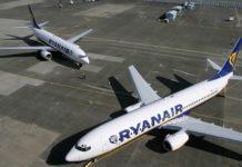 Самолеты Ryanair на перроне в аэропорту