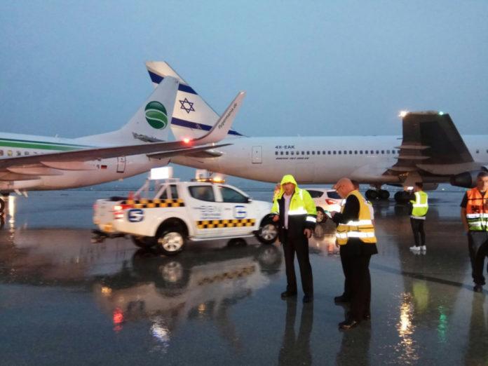 Boeing 737 Germania получил повреждение киля, а Boeing 767 El Al - стабилизатора
