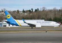 Первый новый Boeing 737-800 UR-UIC для МАУ в 2018 году в Сиэтле