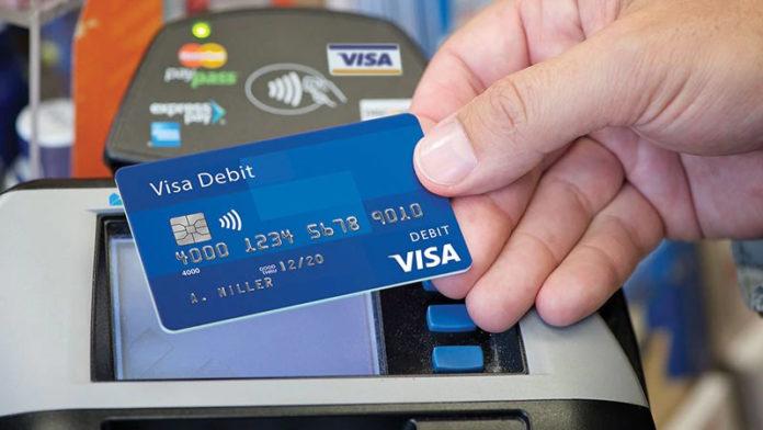 Карта платежной системы Visa. Фото: Visa