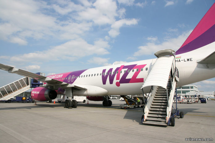 Airbus A320 лоу-коста Wizz Air
