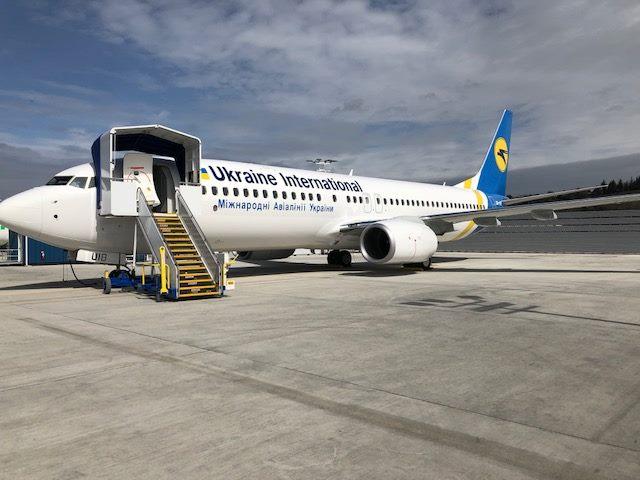 Boeing 737-800 UR-UIB МАУ