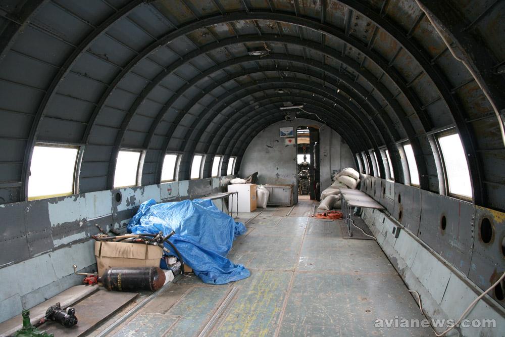 Салон Ил-14