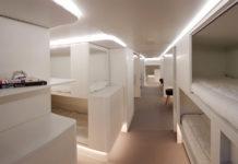 Спальный пассажирский модуль для самолетов Airbus
