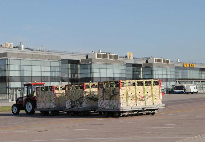 Доставка грузов на склад в аэропорту Борисполь