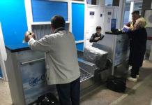 Новые стойки регистрации в аэропорту Черновцы. Фото: Chris Firth