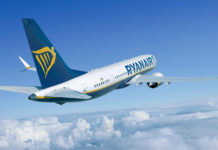 Boeing 737 MAX 8 в ливрее Ryanair