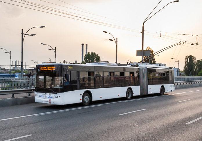 Троллейбус в Киеве