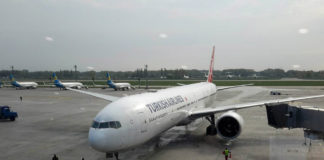 Boeing 777-300 Turkish Airlines в Киеве