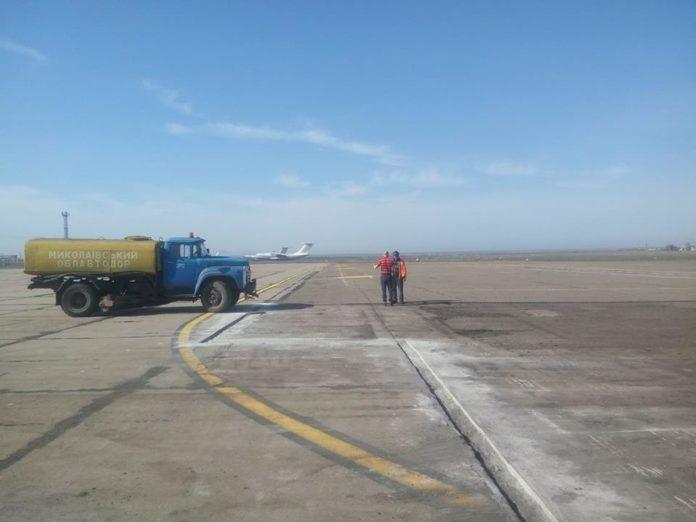 Перрон аэропорта Николаев