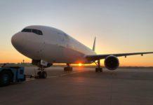 Boeing 777-200ER МАУ с регистрацией UR-GOB. Фото пресс-службы МАУ