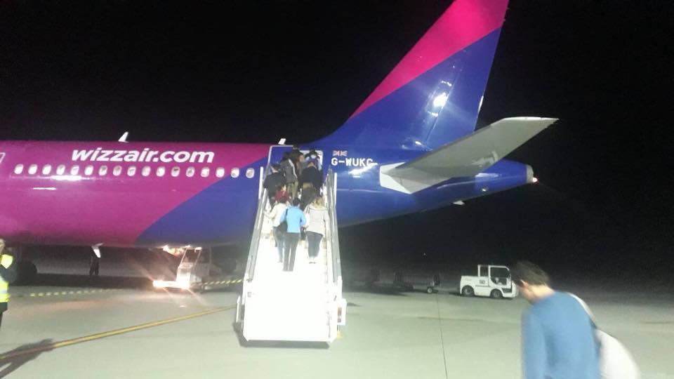 Первый А321 Wizz Air, который совершил полет в Украину, зарегистрирован на британское подразделение бюджетника