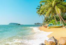 Морской пляж в Таиланде