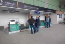 Новые стойки регистрации в аэропорту Полтава