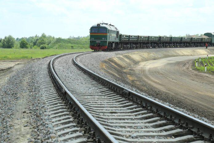 Строительство железной дороги в аэропорт Борисполь