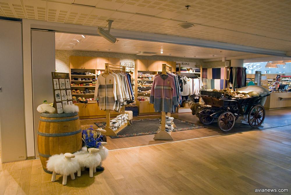 Магазин народных товаров в аэропорту Таллинн