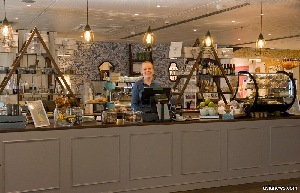 Кафе в аэропорту Таллинна