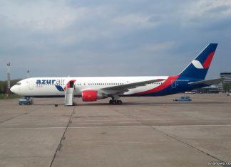 Дальнемагистральный Boeing 767-300ER Azur Air Ukraine