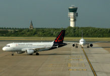 Самолет A319 Brussels Airlines