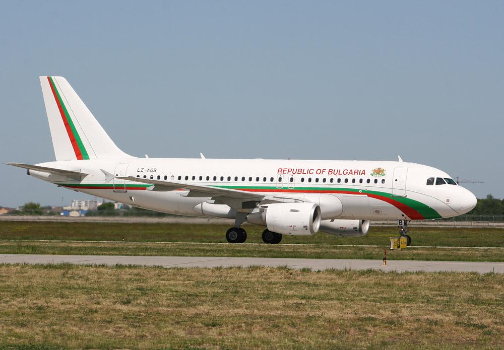Болгарский правительственный Airbus A319