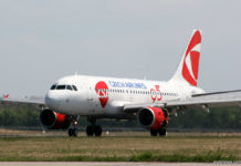 Airbus A319 Czech Airlines