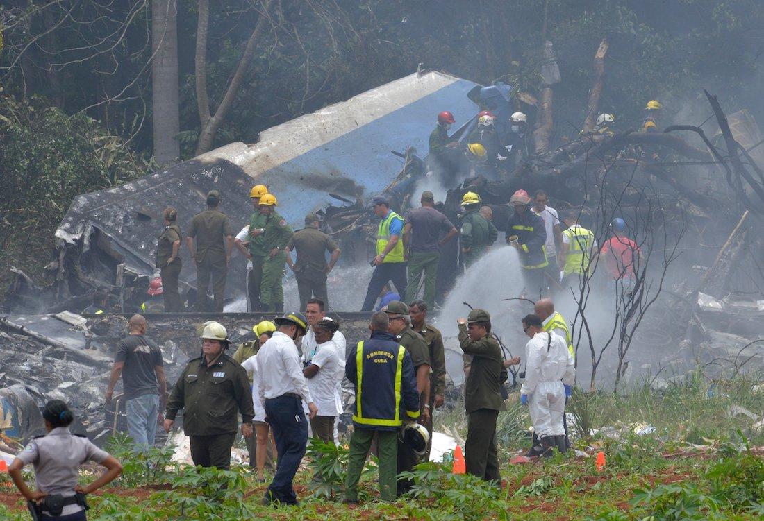 Найден 2-ой черный ящик упавшего наКубе Boeing 737