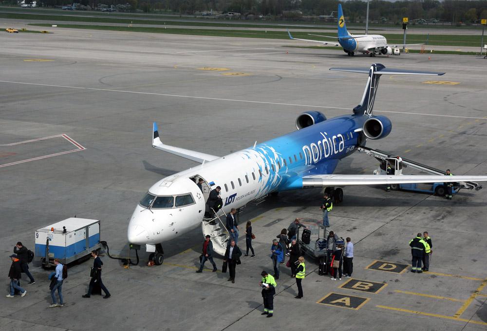 Bombardier CRJ 900 авиакомпании Nordica
