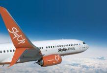 Boeing 737-800 в ливрее SkyUp