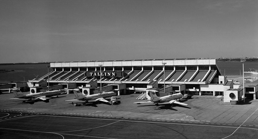 Терминал в аэропорту Таллинна в первоначальном виде до расширения