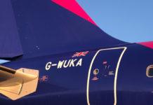 Самолет Wizz Air UK с британской регистрацией