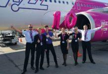 В июле 2018 года Wizz Air отметит 10 лет с момента начала полетов из Украины