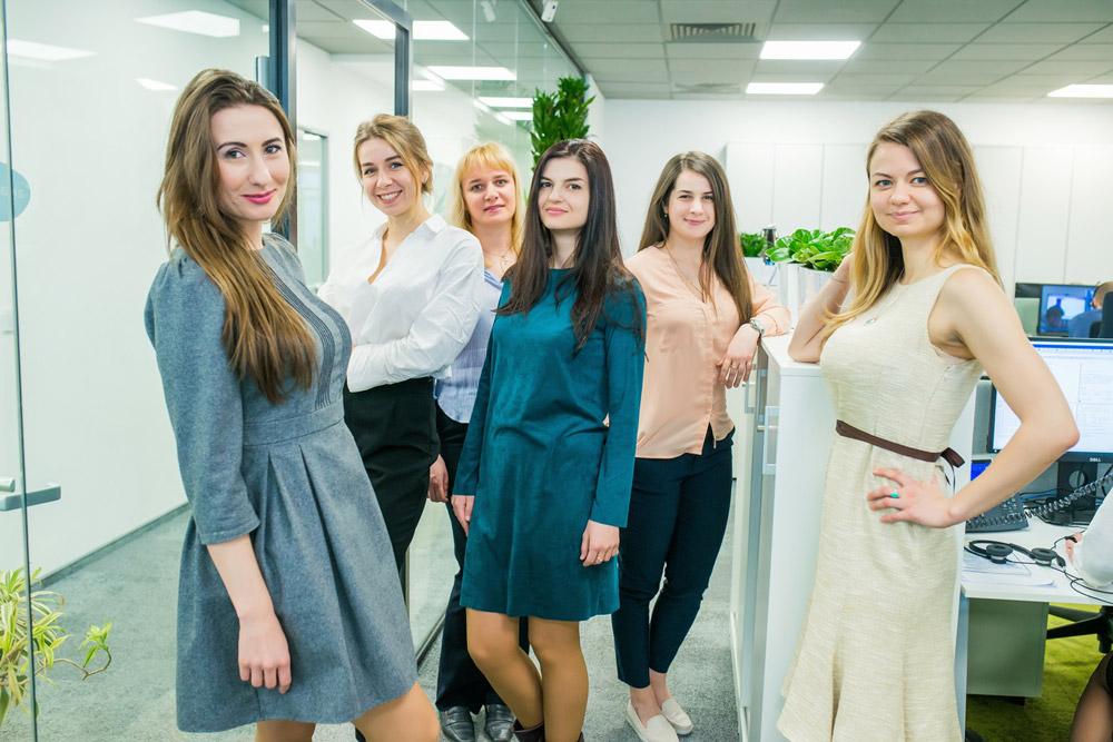 Сотрудники центра поддержки Amadeus в Киеве
