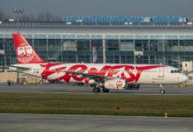 Airbus A320 Ernest Airlines в аэропорту Львов