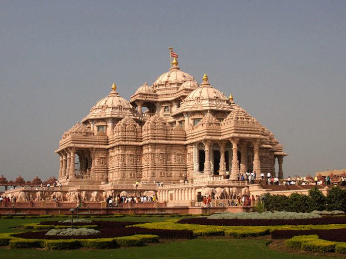 Храм Акшардхам в старом Дели