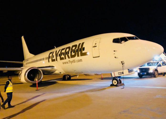 Boeing 737 UR-CQW Bravo Airways в ливрее flyerbil