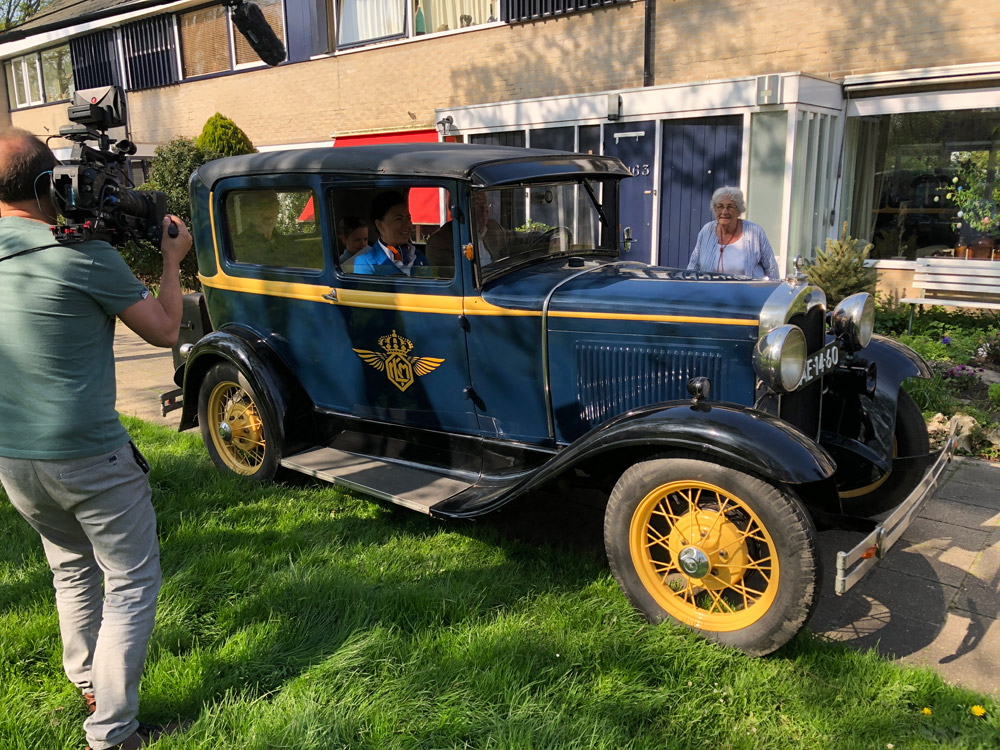 Винтажный Ford A Tudor 1930 года