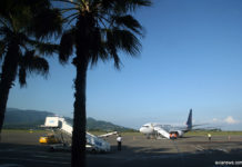 Boeing 737-800 Myway Airlines в аэропорту Батуми