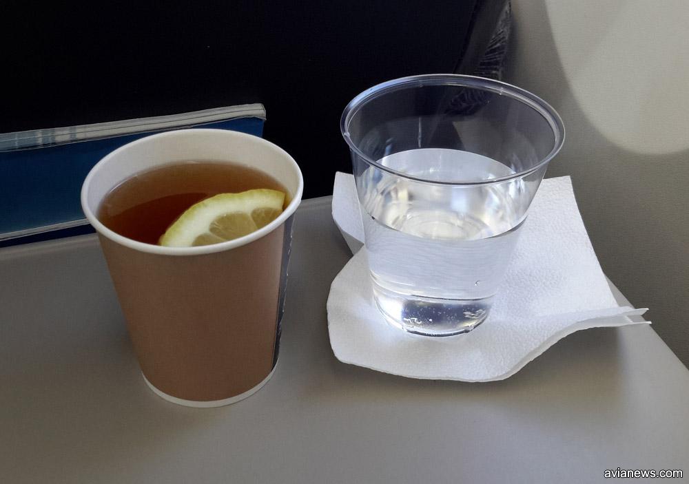 В эконом-классе Nordica бесплатно предоставляет только чай, кофе или воду