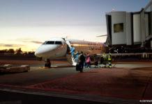 Посадка в Bombardier CRJ 700 в аэропорту Таллинна