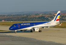 Embraer 190 Air Moldova