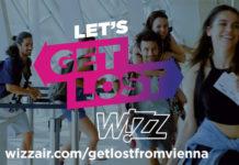Кадр из рекламы конкурса Wizz Air
