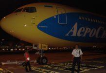 "Boeing 767 ""АэроСвита"" в Бангкоке, Таиланд. Фото: Виктор Логвиненко"